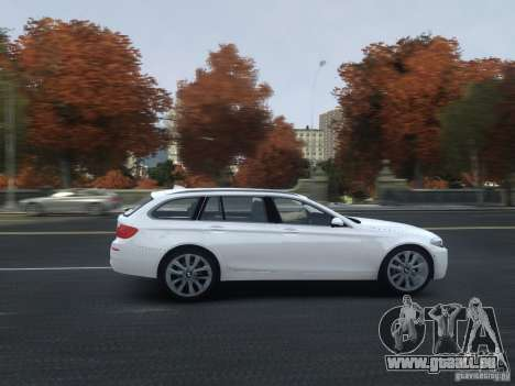 BMW M5 F11 Touring V.2.0 für GTA 4 Seitenansicht