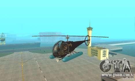 Dragonfly pour GTA San Andreas vue intérieure