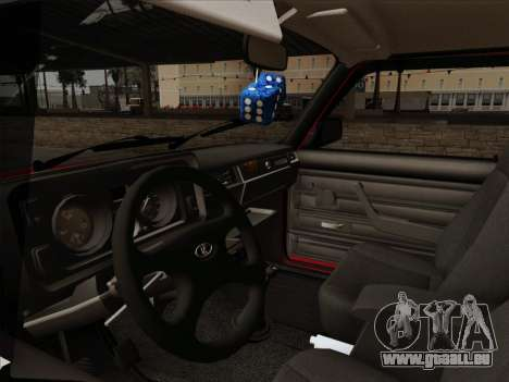 VAZ 21054 pour GTA San Andreas vue de dessus