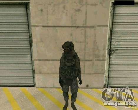 Peau du soldat de CODMW 2 pour GTA San Andreas