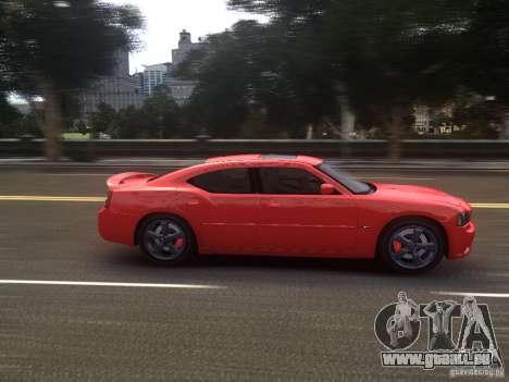 Dodge Charger SRT8 2006 pour GTA 4 est une vue de l'intérieur