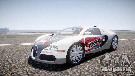 Bugatti Veyron 16.4 v1 pour GTA 4 Vue arrière