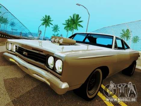 Plymouth GTX für GTA San Andreas rechten Ansicht