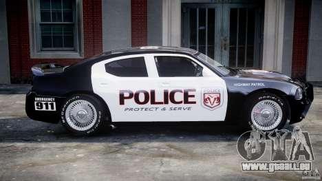 Dodge Charger SRT8 Police Cruiser pour GTA 4 est une vue de dessous