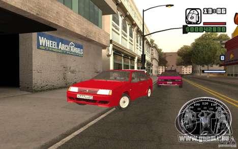VAZ 21093i pour GTA San Andreas moteur