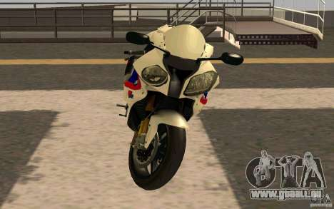 BMW S1000RR City Version für GTA San Andreas linke Ansicht