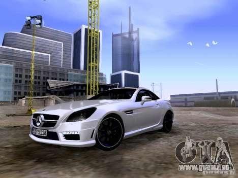 Mercedes-Benz SLK55 AMG 2012 für GTA San Andreas