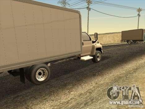 GMC 5500 2001 pour GTA San Andreas vue de droite