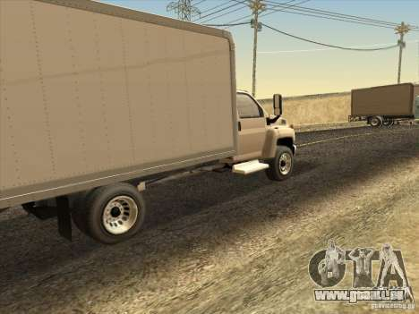 GMC 5500 2001 für GTA San Andreas rechten Ansicht