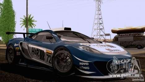 McLaren MP4-12C Speedhunters Edition pour GTA San Andreas roue