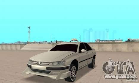 Peugeot 406 TAXI für GTA San Andreas