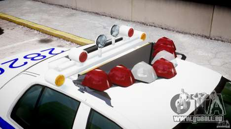 Ford Crown Victoria NYPD für GTA 4 Innen