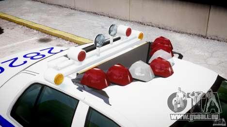Ford Crown Victoria NYPD pour GTA 4 Salon