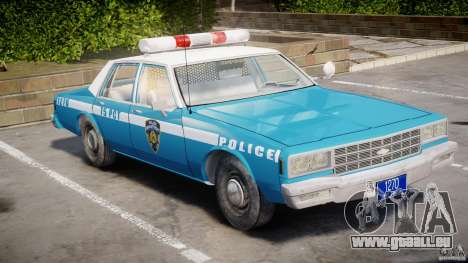 Chevrolet Impala Police 1983 v2.0 für GTA 4 linke Ansicht
