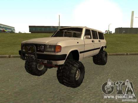 31022 Volga gaz 4 x 4 pour GTA San Andreas