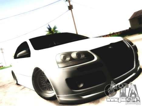 Volkswagen Golf GTI pour GTA San Andreas vue de droite