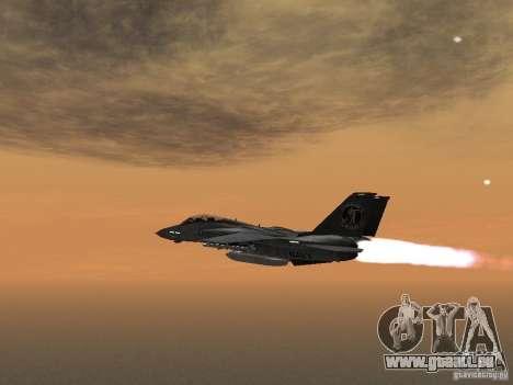 F-14 pour GTA San Andreas laissé vue