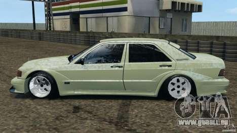 Mercedes-Benz 190E 2.3-16 sport für GTA 4 linke Ansicht