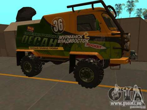 UAZ 2206 Expedition für GTA San Andreas linke Ansicht