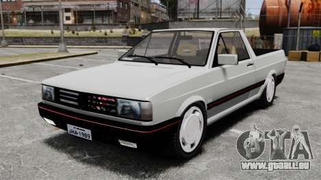 Volkswagen Saveiro 1990 Turbo pour GTA 4