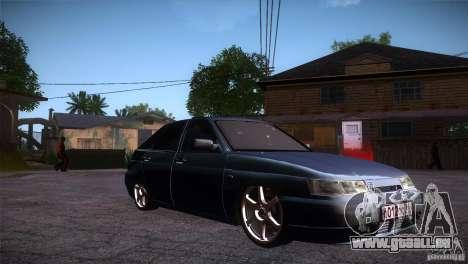 VAZ-2112 LT pour GTA San Andreas vue arrière