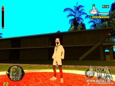 Haut Penner v9 für GTA San Andreas dritten Screenshot