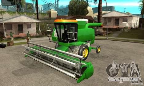 Combine Harvester Retextured pour GTA San Andreas