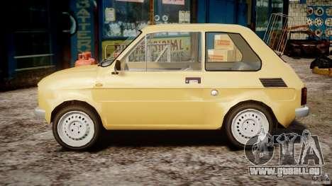 Fiat 126p 1976 pour GTA 4 est une gauche