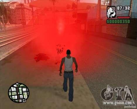 Passanten explodierende Köpfe für GTA San Andreas