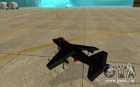 Black Hydra v2.0 pour GTA San Andreas vue de droite