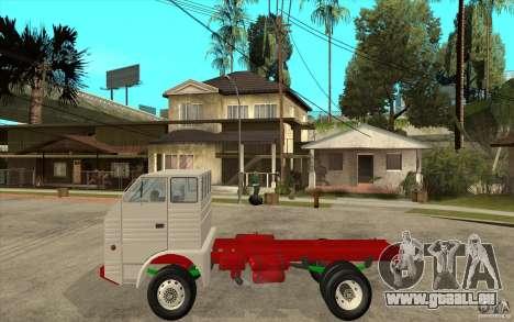 Dac 444 T pour GTA San Andreas laissé vue