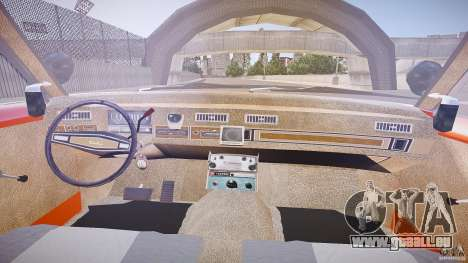AMC Matador Hazzard County Sheriff [ELS] für GTA 4 Rückansicht