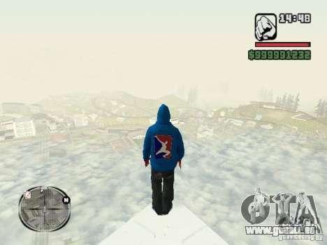 RunMan für GTA San Andreas zweiten Screenshot