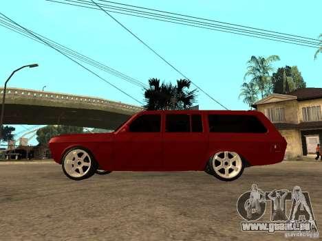 GAZ 24-12 pour GTA San Andreas laissé vue