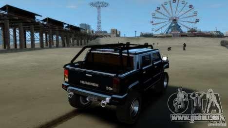 Hummer H2 4x4 OffRoad pour GTA 4 est une gauche