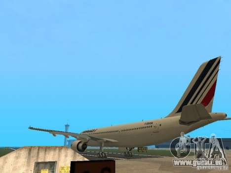 Airbus A300-600 Air France pour GTA San Andreas vue de droite