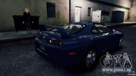 Toyota Supra RZ 1998 pour GTA 4 Vue arrière de la gauche