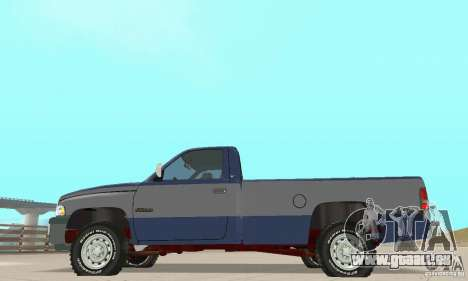 Dodge Ram 2500 1994 pour GTA San Andreas vue de droite
