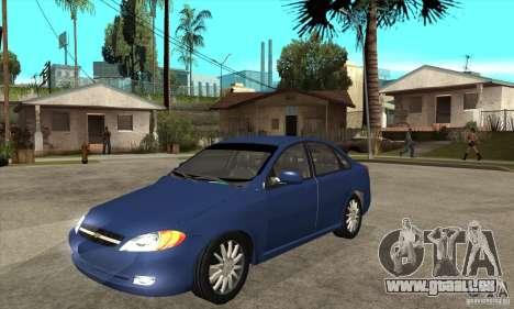 Chevrolet Optra 2011 für GTA San Andreas