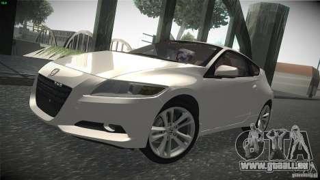 Honda CR-Z 2010 V1.0 für GTA San Andreas linke Ansicht
