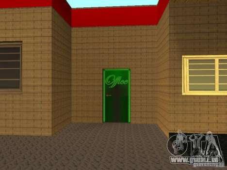Le garage Ferrari dans Dorothy pour GTA San Andreas troisième écran