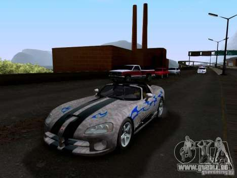Dodge Viper SRT-10 Custom für GTA San Andreas Motor