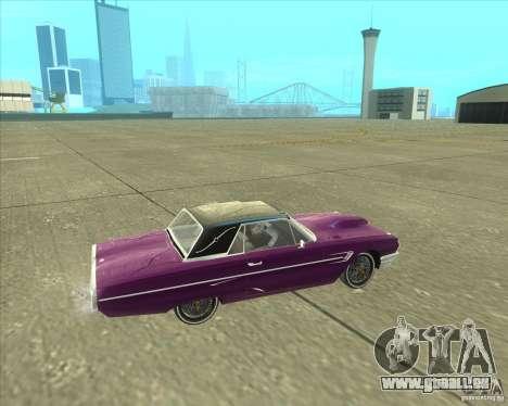 Ford Thunderbird 1964 pour GTA San Andreas vue de droite