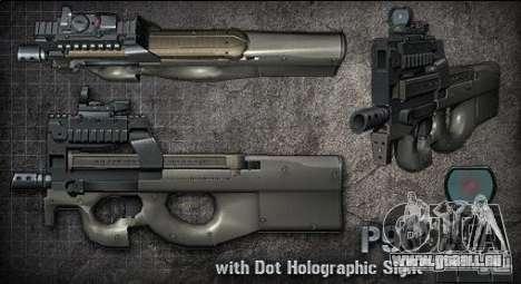 [Point Blank] P90 pour GTA San Andreas