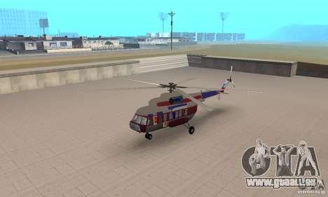 MI-17 zivil (Deutsch) für GTA San Andreas
