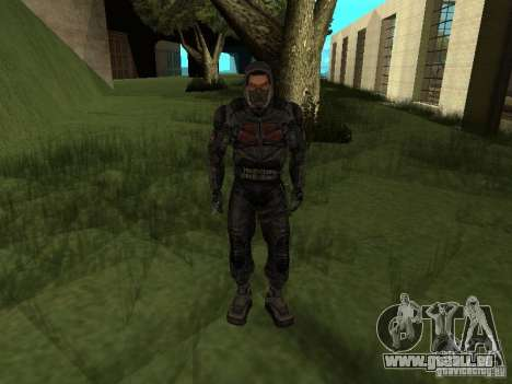 Mitglied der Auffassung von s.t.a.l.k.e.r. für GTA San Andreas