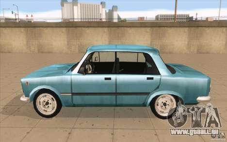 Fiat 125p pour GTA San Andreas laissé vue