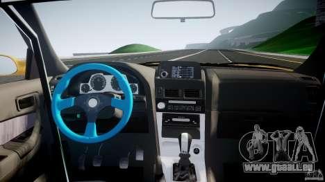 Nissan Skyline R34 GT-R Tezuka Goodyear D1 Drift pour GTA 4 vue de dessus