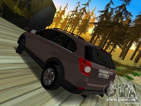 Chevrolet Captiva pour GTA San Andreas laissé vue