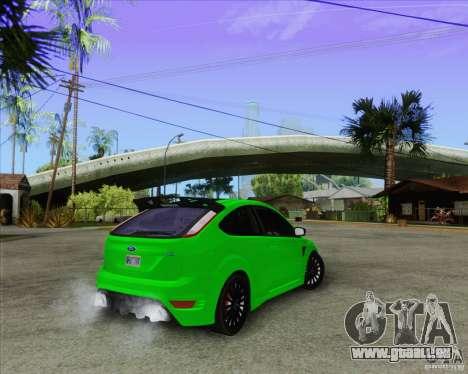 Ford Focus RS für GTA San Andreas Seitenansicht